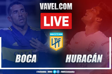 Resumen de Boca vs Huracán (3-0) por la tercera fecha de la segunda fase de la Copa Diego Armando Maradona