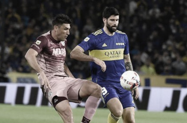 Imagen del encuentro entre Boca Juniors y Lanús en La Bombonera./ (Foto: Prensa Boca)