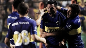 Chávez festeja el gol del empate en 2016 (FOTO: el docetv).