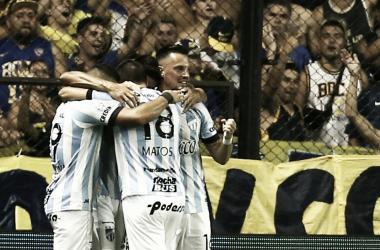 El Decano sorprendió a Boca en su estadio y lo venció de gran manera por 2 a 1. Foto: Redes.