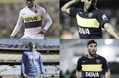 Cardona es el 16º jugador colombiano en Boca | Fotomontaje: Nicolás González
