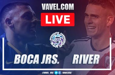 Goals and Highlights: Boca Juniors 2-2 River Plate in Superclasico Maradona Cup 2021
