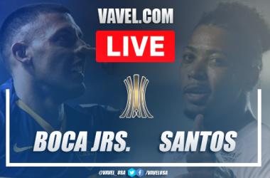 Highlights and best moments: Boca Juniors 0-0 Santos in Copa Libertadores Semfinal 2021