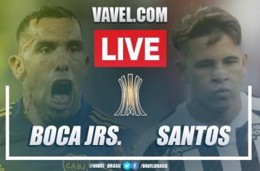 Melhores momentos de Boca Juniors 0 x 0 Santos pela Copa Libertadores