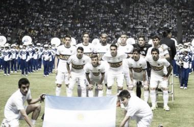 Los once iniciales ante el conjunto mexicano | Foto: Boca Juniors