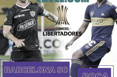 Previa de Boca vs Barcelona SC. Por la tercera fecha de la Copa Libertadores.