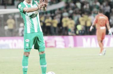 Daniel Bocanegra volvió a la saga defensiva después de varias semanas lesionado. Foto de: Atlético Nacional
