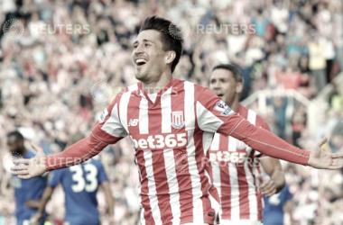 Bojan en el Stoke City. / Foto: Reuters