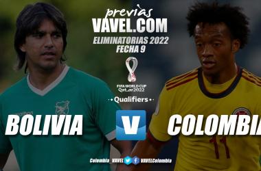 Previa Bolivia vs Colombia: duelo para abrir la fecha 9 de las eliminatorias
