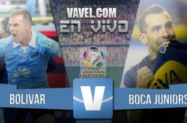 Resultado Boca Juniors - Bolívar (3-1)