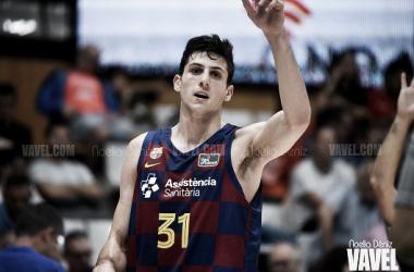 Leandro Bolmaro durante la Liga Catalana / Foto: Noelia Déniz (VAVEL)