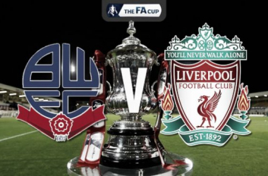 Bolton Wanderers vs Liverpool FA Cup Fourth Round Replay LIVE