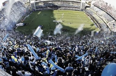 La 'Bombonera' en todo su esplendor, catalogada como uno de los mejores estadios del mundo. Foto: Infobae.