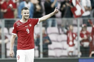 """Seferovic: """"El gol es muy importante a nivel de equipo"""""""