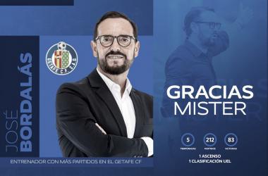 Jose Bordalás // Fuente: Getafe CF