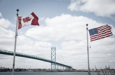 Frontera E.E.U.U.-Canadá ! Foto: travelandleisure.com