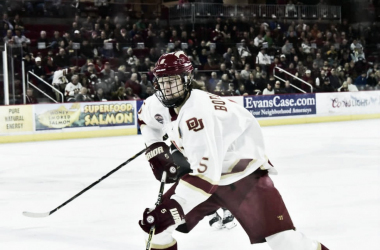 Henrik Borgstrom may be ready to step up to the NHL. (Photo: University of Denver)