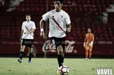 El canterano Borja Lasso sigue entrando en las convocatorias del primer equipo | Foto: Juan Ignacio Lechuga