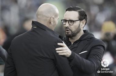Bordalás y Zidane / Foto: LaLiga