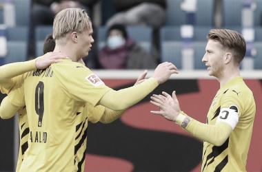Reus marca, e Dortmund quebra tabu ao vencer Hoffenheim na Bundesliga