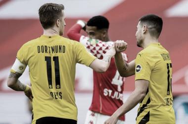 Goals and Highlights Borussia Dortmund vs Mainz 05 (3-1)