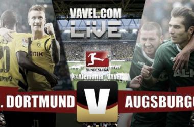 Resultado Borussia Dortmund - Augsburgo en la Bundesliga 2015 (0-1)