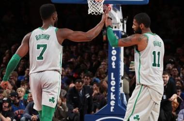 NBA - Irving trascina Boston a New York, Miami in scioltezza. Utah riparte dai Mavericks
