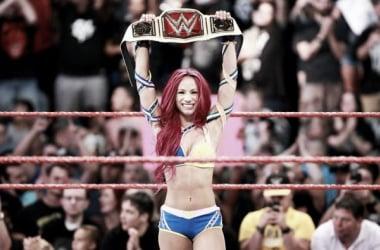 Sasha Banks became the new Women's Champion. Photo- WWE.com