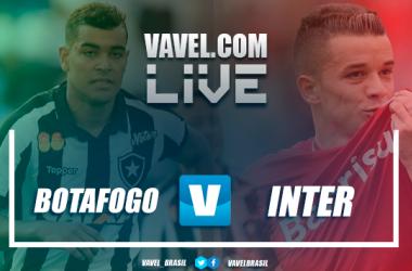 Resultado final Botafogo x Internacional (1-0)