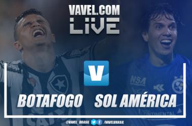 Resultado e gols Botafogo x Sol de América pela Copa Sul-Americana (4-0)