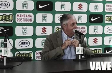 """Andrés Botero: """"Si estoy contentoy animado por pertenecer a esta institución es hoy"""""""