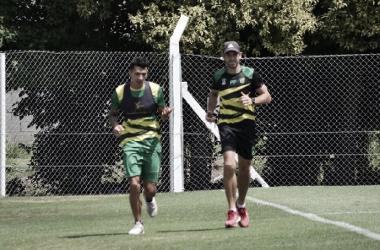 Rubén Botta comenzó a entrenar. Foto: Club Defensa y Justicia.