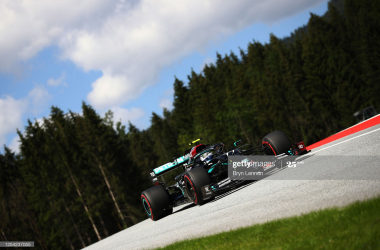 Valtteri Bottas breaks lap record for stunning pole lap in Austria