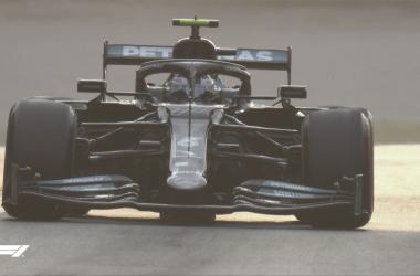 Bottas rodando en el Autodromo Nazionale di Monza. (Fuente: F1)