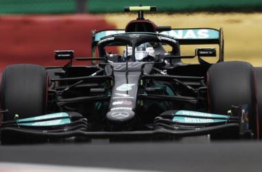 Valtteri Bottas rodando en Spa. (Fuente: F1.com)