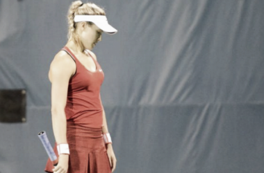 Picture source: Christopher Levy - Bouchard is looking to improve her form heading into the US Open.
