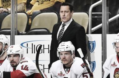 Guy Boucher, entrenador de los Senators | Foto Fuente: NHL.com