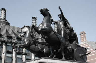 Estatua de Boudica en el Puente de Westminster, Londres | Pixabay