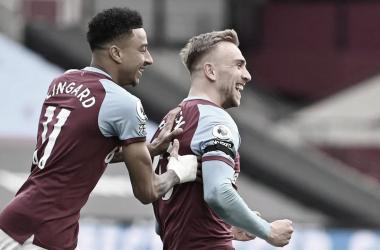 Lingard y Bowen los dos grandes protagonistas del encuentro./ Foto: Premier League