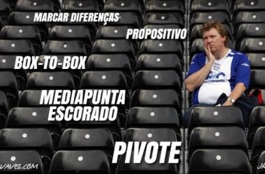 Pivote, pressing, centrocampista: novos termos invadem análises e geram debate entre jornalistas
