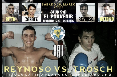 Noche de boxeo en Quilmes/Foto:boceo-boxing