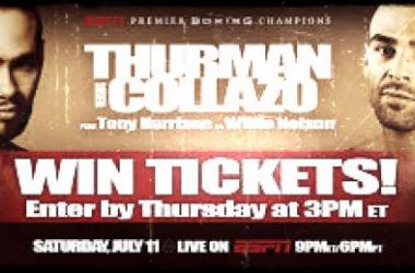 Thurman-Collazo una de las grandes peleas del fin de semana/Foto:boxingsocialist.
