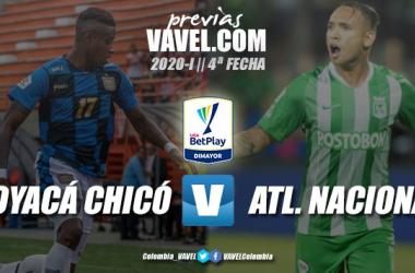 Previa Boyacá Chicó vs. Atlético Nacional: por los tres puntos