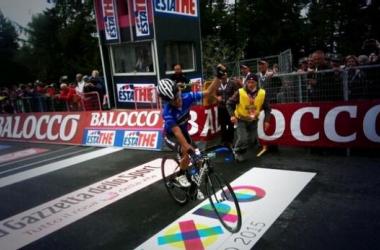 Giro de Italia, etapa 18: Julián Arredondo y Fabio Duarte hacen el uno dos del día