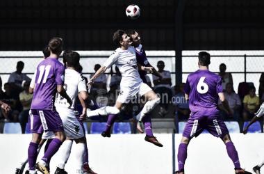 Lance del juego (Foto: Real Jaén - Best Photo Soccer)
