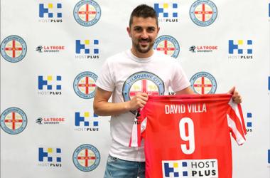 David Villa jugará en la A-League australiana hasta 2015