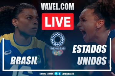 Pontos e melhores momentos de Time Brasil 0x3 Estados Unidos no vôlei feminino pelas Olimpíadas de Tóquio 2020