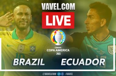 Goals and Highlights: Brazil (1-1) Ecuador in Copa América 2021