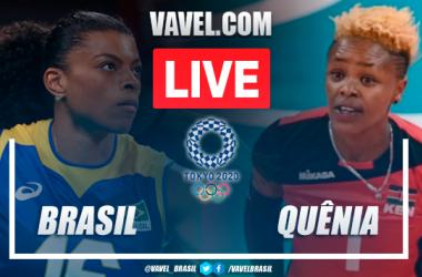 Pontos e melhores momentos Time Brasil 3x0 Quênia no vôlei feminino pelas Olimpíadas de Tóquio 2020
