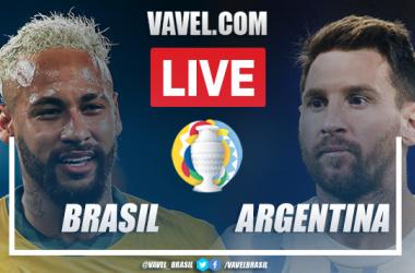 Gol e melhores momentos de Brasil x Argentina (0-1)